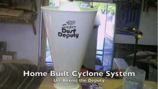 Home Built Cyclone Dust System Pt. 3