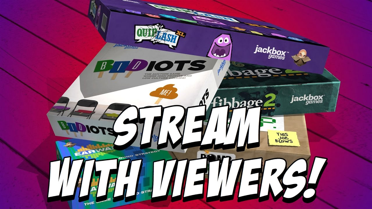 Jackbox Party Pack 2 Fun With Viewers! - YouTube