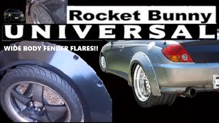 Rocket Bunny Universal Fender Flare Unboxing AND MORE!!