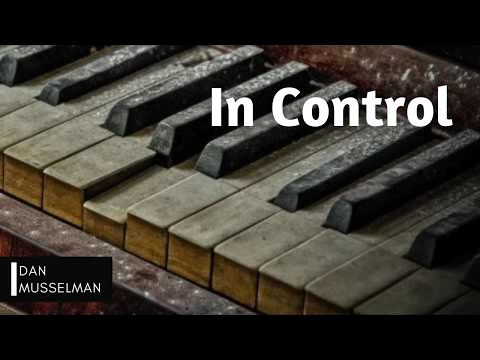 In Control, Hillsong. Solo Piano.