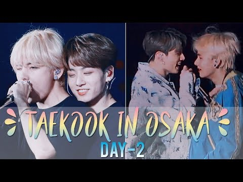 taekook almost kissed, jk backhugged tae || taekook osaka moments d-2