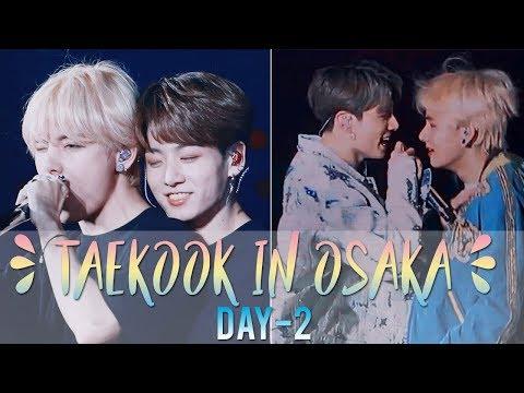 taekook almost kissed, jk backhugged tae || taekook osaka moments d-2