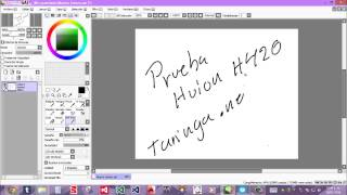 Huion H420 First Test
