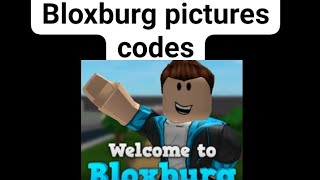 Roblox bloxburg some pictures Codes