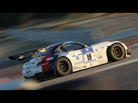 BMW Z4 GT3 FIA GT Race car - Test by DRIVE Magazine (Eng subs)