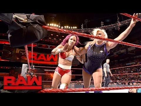 Sasha Banks vs. Bayley vs. Dana Brooke: Raw, Sept. 12, 2016