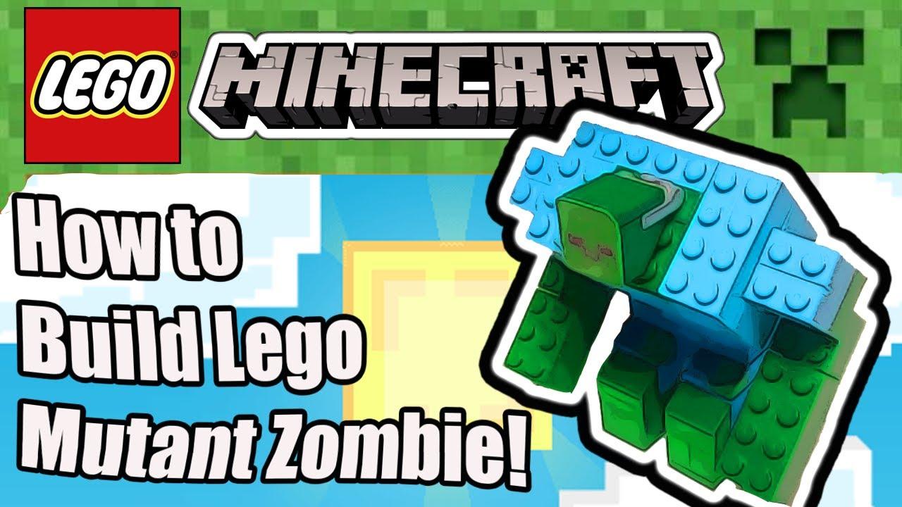 lego mutant zombie tutorial youtube