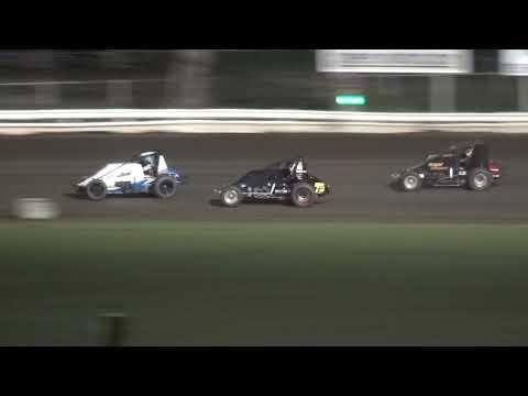 Iowa Sprint Car League Heat 1 Pepsi Lee County Speedway 9/14/19