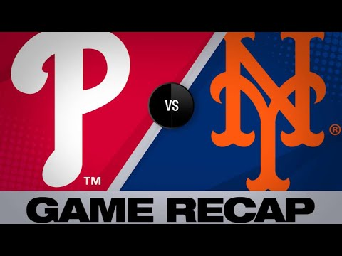 4/24/19: Hoskins homers, Phillies shut out Mets