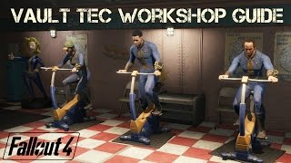 Fallout 4 Vault Tec Workshop Guide   The Basics + Tips and Tricks