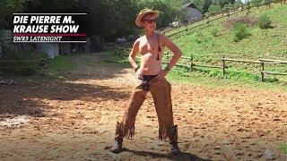 Cowboy-Pierre auf der Mulifarm und im Wolfspark
