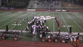 Roseville High School Tiger Band vs Ponderosa Senior/Pink Out Game 10/27/17