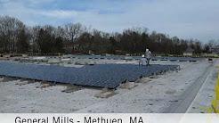 General Mills - Methuen, MA: solar installation timelapse by Nexamp
