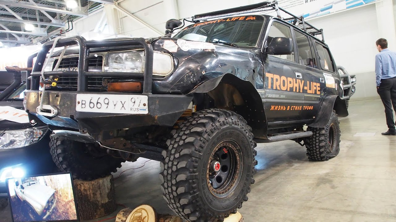 Toyota Land Cruiser 80 Offroad Tuning Moscow Offroad