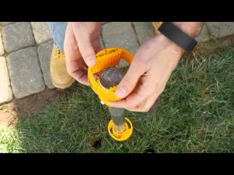 How To Install A No Dig Vinyl Fence Post In 60 Seconds