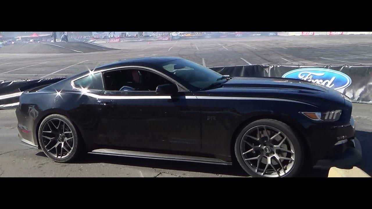 """2015 """"RTR"""" Mustang Drifting SEMA 2014"""