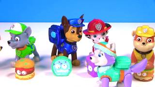 Paw Patrol Slime Potty Toilet Putty Toy Surprise Romeo's Prank | Fizzy Toy Show
