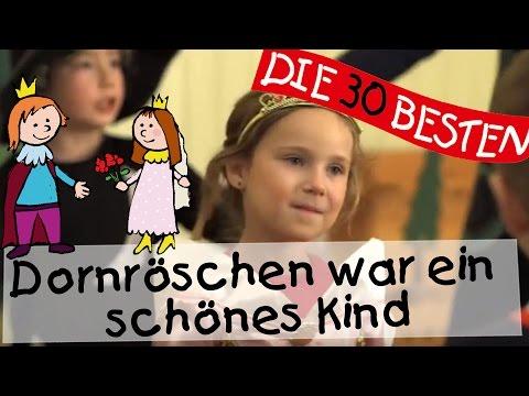 Dornröschen war ein schönes Kind - Singen, Tanzen und Bewegen || Kinderlieder