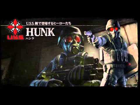 Resident Evil The Umbrella Chronicles OST : Hunk theme