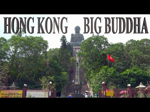 Hong Kong - Big Budda and Ngong Ping Village 4K