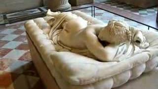 hermaphrodite in the Louvre Museum, Paris