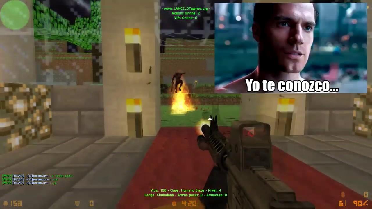 Loquendo Zombie Escape Counter Strike (PARTE 38)