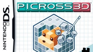 CGR Undertow - PICROSS 3D review for Nintendo DS