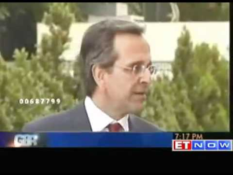 Antonis Samaras sworn in as Greek PM