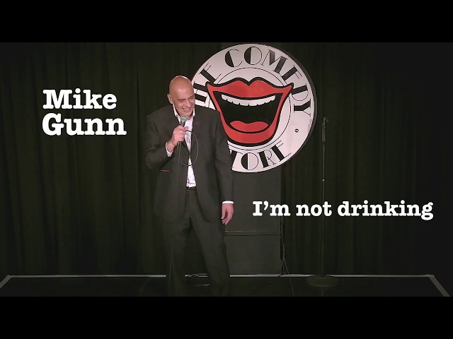 Mike Gunn Not Drinking