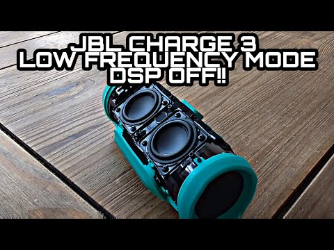 JBL CHARGE 3 XTREME BASS MODE!/ LOW FREQUENCY MODE! (2017)