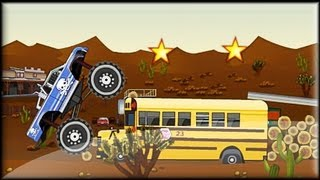 Monster Truck Trip 1 - Game preview / gameplay