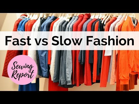 LIVE 🔴 Fast vs Slow Fashion - Sewing Talk | SEWING REPORT