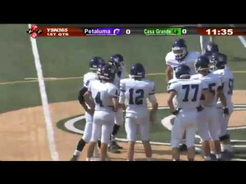 Full Game- 2017 Egg Bowl, Petaluma vs Casa Grande