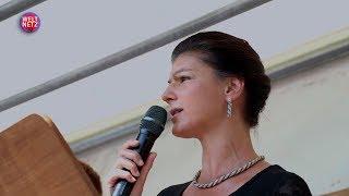 Сара Вагенкнехт: Нужно закрыть базы США и улучшить отношения с Россией [Голос Германии]