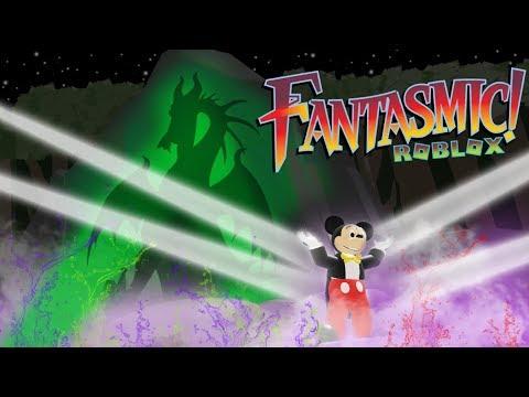Roblox Disneylands Fantasmic Youtube Fantasmic In Roblox 4k Resolution Disney S Hollywood Studios Youtube