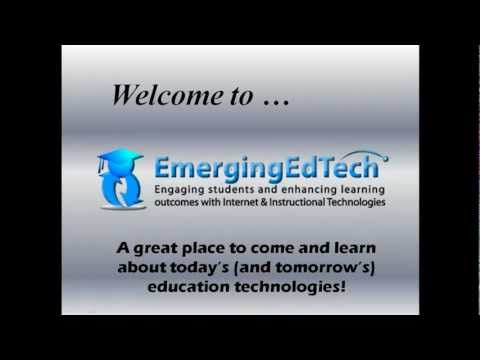 About EmergingEdTech - A Popular Education Technology Blog & Website