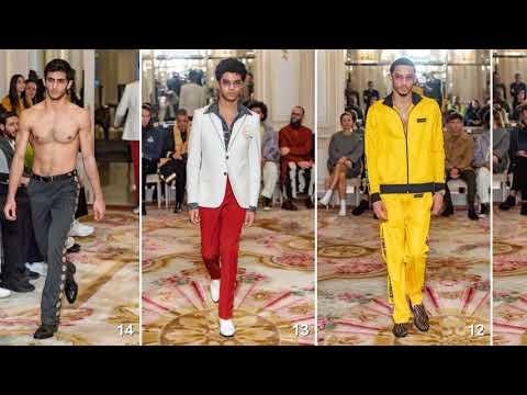 SSS World Corp - Fall 2019 Menswear