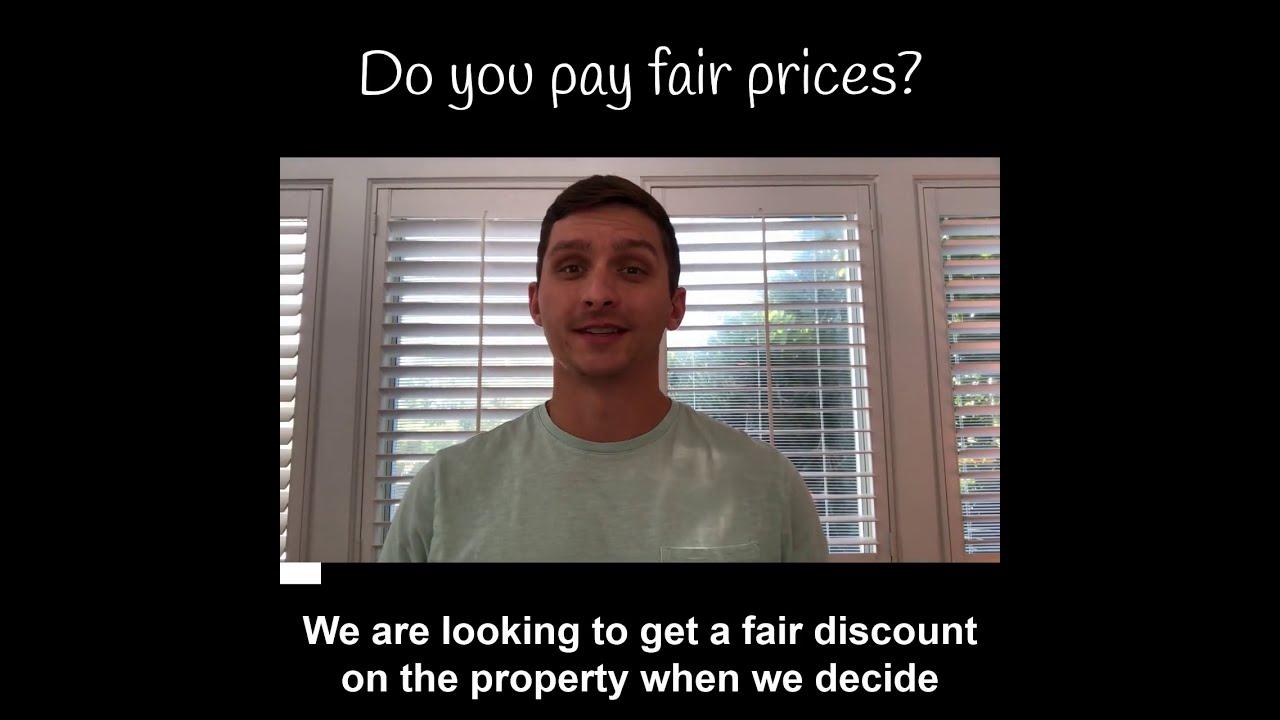Do you pay fair prices?
