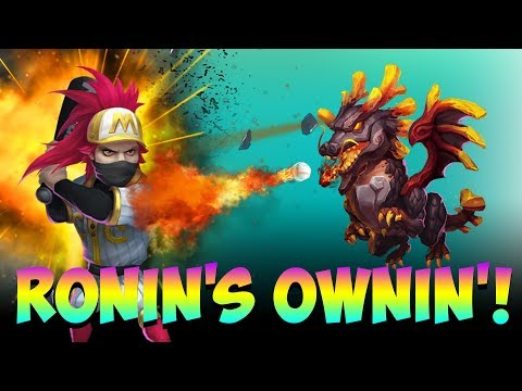 Ronin Owns Top Players Lavanica INSANE Castle Clash