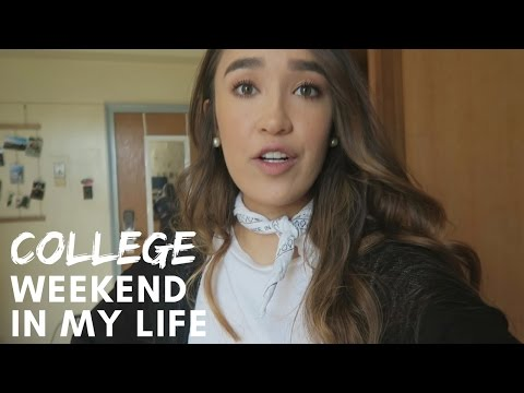COLLEGE WEEKEND IN THE LIFE | Rachael Steed