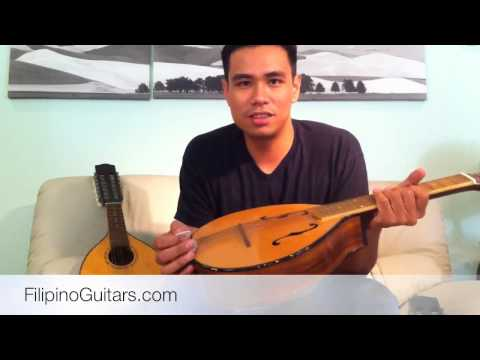 Filipino Rondalla Instruments: Bandurria, Octavina, and Laud