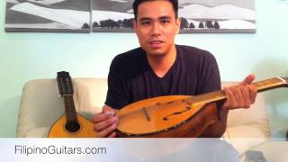 Filipino Rondalla Instruments: Bandurria, Octavina, and Laud
