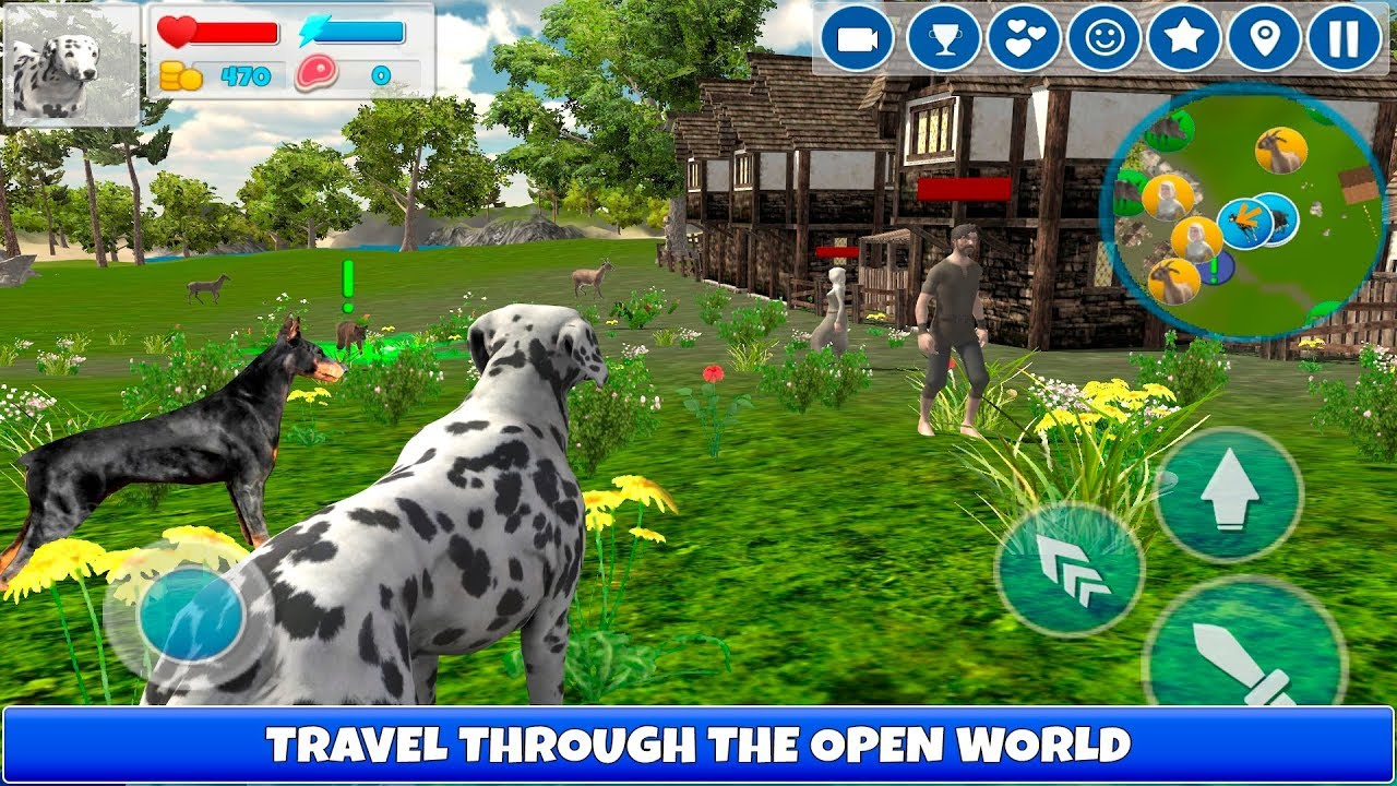 Dog simulator 3d cool missions by cybergoldfinch youtube for Simulatore 3d