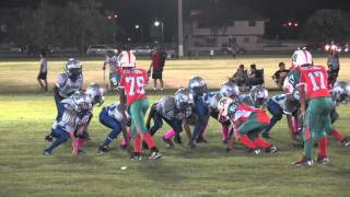 West Kendall Dolphins vs South Miami Grey Ghost 90lbs