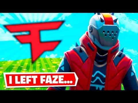 why i left FaZe Clan (the real reason & story)