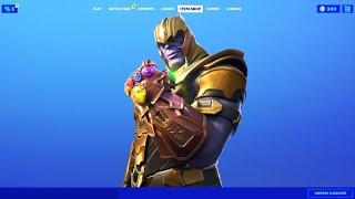 Thanos item shop..!