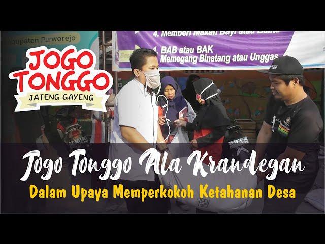 Inilah Jogo Tonggo Ala Desa Krandegan Bayan Purworejo