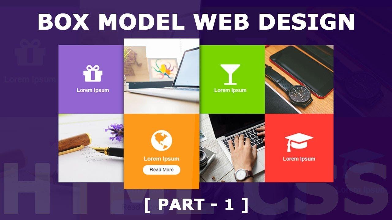 Responsive Box Model Web Design Part 1 Html5 Css3