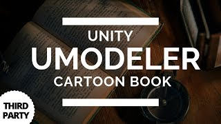 Unity UModeler - Cartoon Book 3D Modelling in Unity