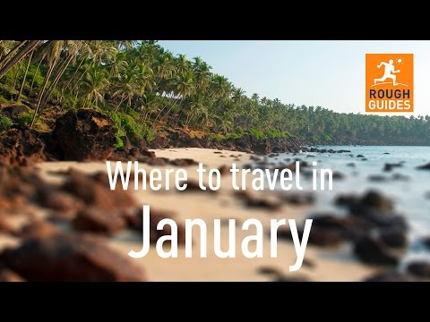 The best places to travel in January
